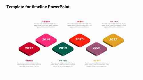 IsometrictemplatefortimelinePowerPoint