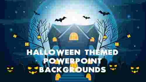 Best Halloween themed PowerPoint backgrounds