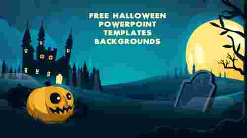 Best Free Halloween PowerPoint templates backgrounds