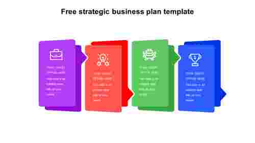 Free strategic business plan template Powerpoint