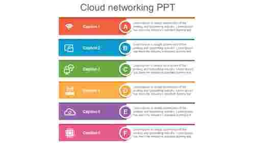 cloudnetworkingPPTslidemodel