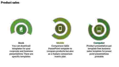 productcomparisonPPTtemplate-Semi-CircleModel