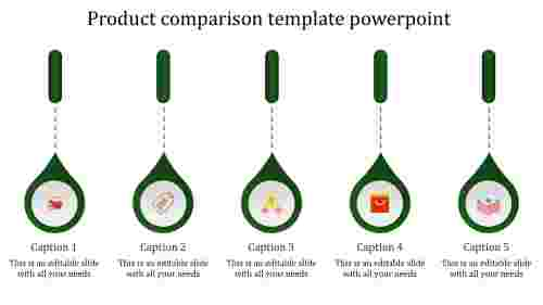 product comparison template powerpoint-product-market