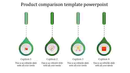 product presentation powerpoint-product comparison template powerpoint-green-4