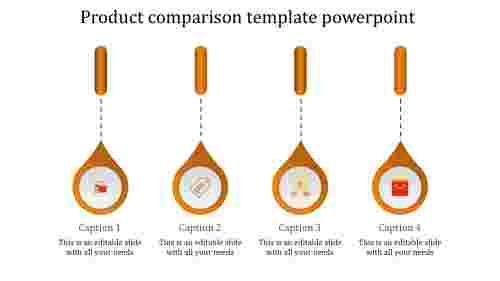 product presentation powerpoint-product comparison template powerpoint-orange-4