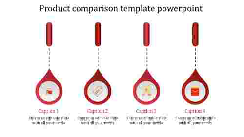 product presentation powerpoint-product comparison template powerpoint-red-4
