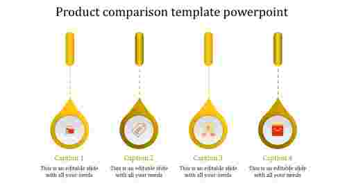 product presentation powerpoint-product comparison template powerpoint-yellow-4