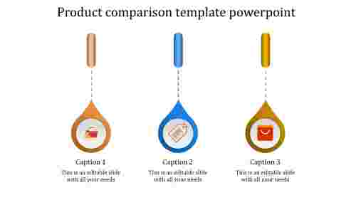 product presentation template powerpoint-product comparison template powerpoint-3-MULTICOLOR