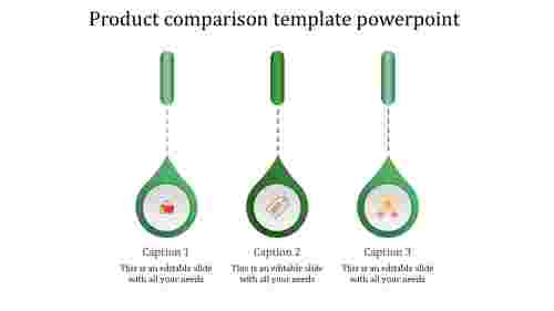 product presentation template powerpoint-product comparison template powerpoint-green-3
