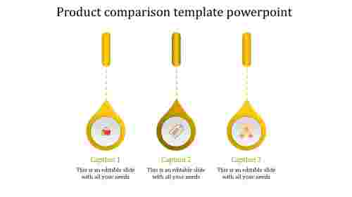product presentation template powerpoint-product comparison template powerpoint-yellow-3