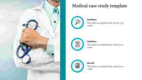 Creative medical case study template