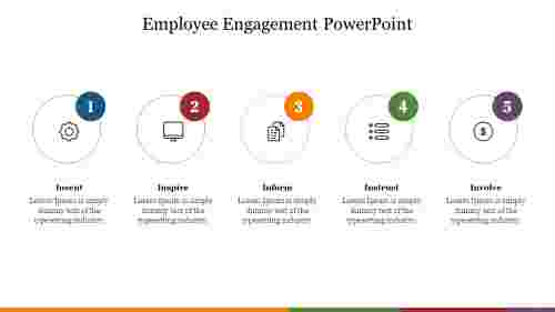 Employee%20Engagement%20PowerPoint%20With%20Circle%20Design