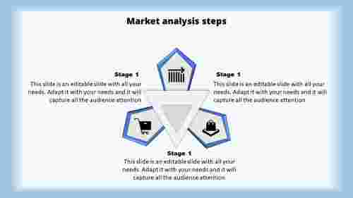 Market Analysis Powerpoint Template-Triangle Shaped