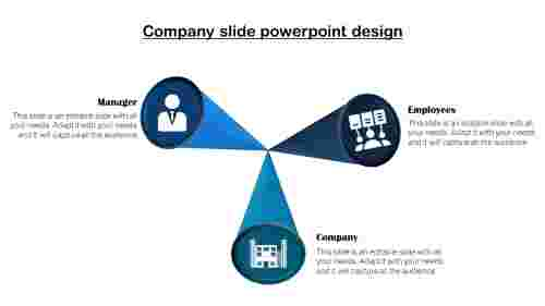 company profile slide template-Company