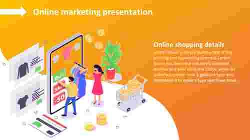 Online Marketing Presentation PPTdesign
