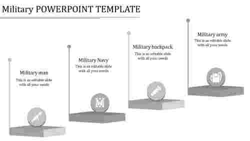 military powerpoint template-military powerpoint template-grey