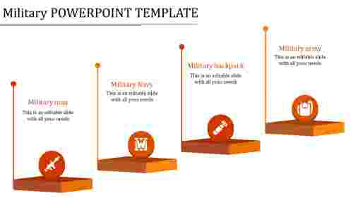 military powerpoint template-military powerpoint template-orange