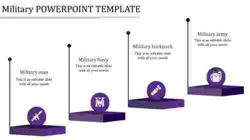 military powerpoint template-military powerpoint template-purple