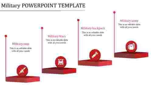 military powerpoint template-military powerpoint template-red
