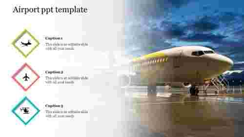 AirportPPTtemplatePowerPointpresentation