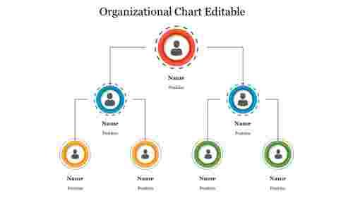 Creative%20Organizational%20Chart%20Editable%20PowerPoint