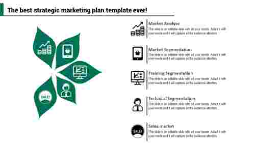 Leaf Model Strategic Marketing Plan Template