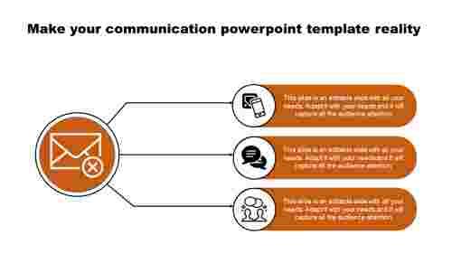 Spoke Communication PowerPoint Template