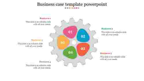 Creative business case template powerpoint