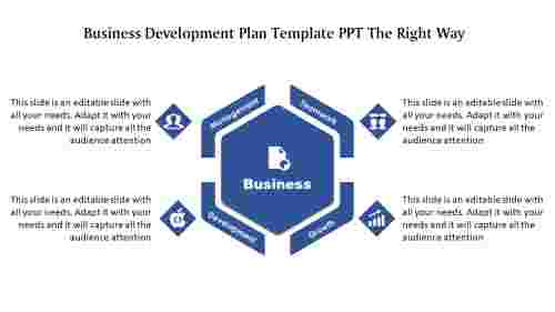 Business%20Development%20Plan%20Template%20PPT-%20Hexagonal%20Model