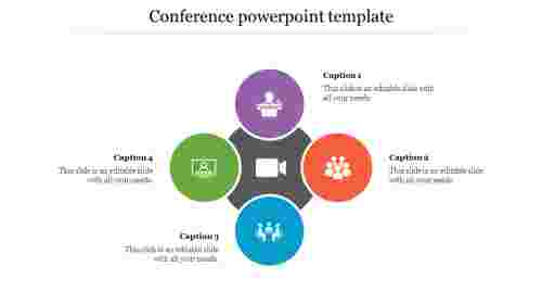 Conference%20PowerPoint%20Template%20With%20Circle%20Design