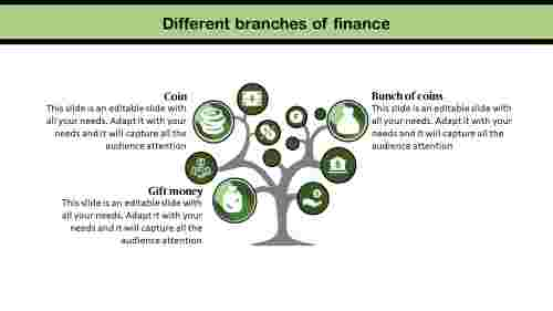 finance powerpoint presentation-tree model