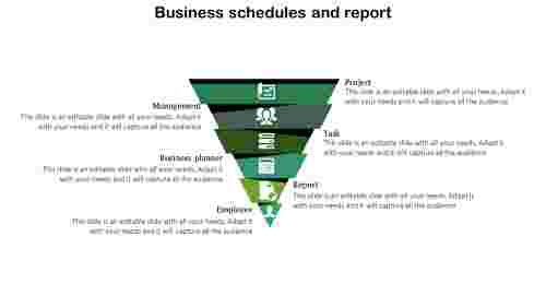 Slide Templates Business	- Pyramid Model