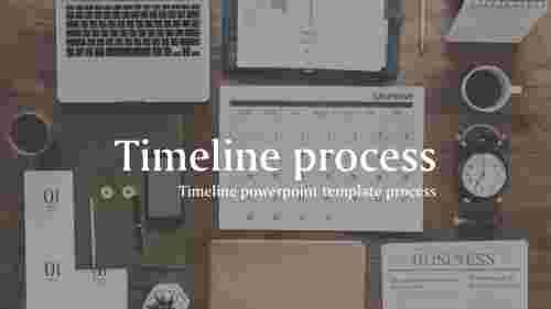BusinessTimelineTemplatePPTslide