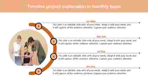 project timeline template powerpoint for meeting