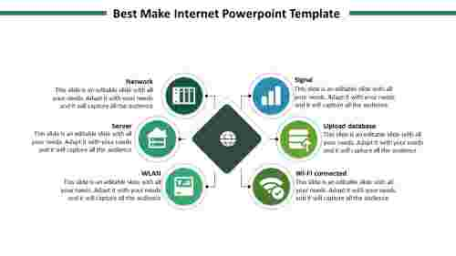 internet powerpoint template