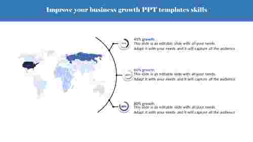 business growth PPT templates- Business Skills