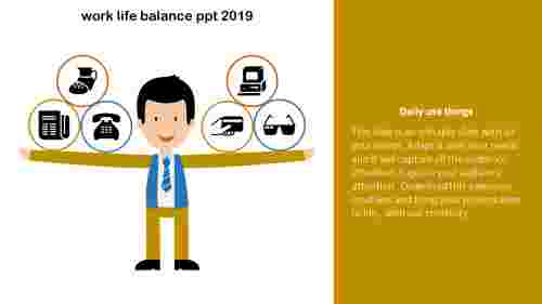 work life balance PPT template