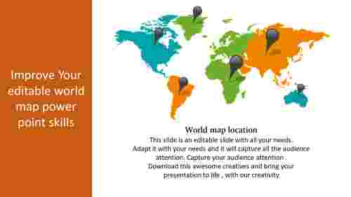 editable world map powerpoint