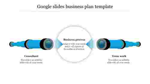 Creative google slides business plan template