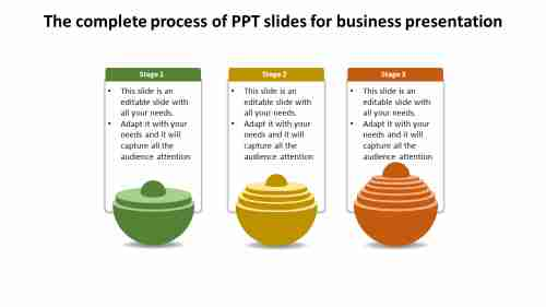 PPT slides for business presentation