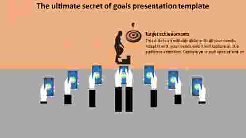 goals presentation template