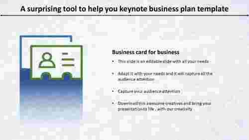 keynote business plan template- Surprising Tool