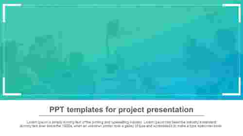 PPT templates for project presentation for clients