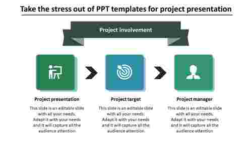 PPT templates for project presentation