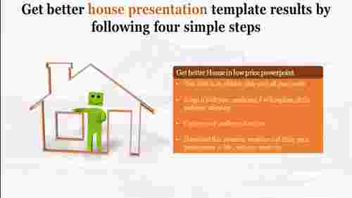 Building a house presentation template