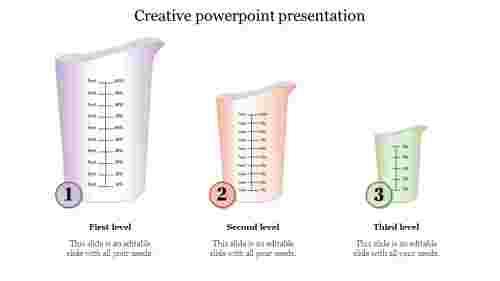 creative powerpoint presentation slide