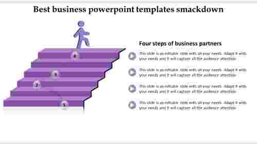 Best Business PowerPoint Templates – Four Steps