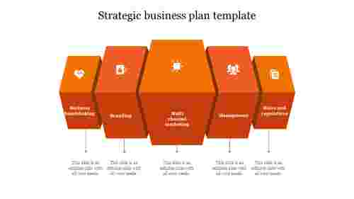 strategic business plan template-Orange