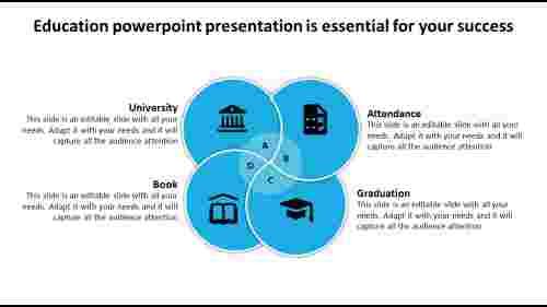 Education Powerpoint Presentation - Circular-Pie