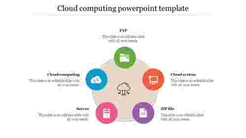 cloudcomputingpowerpointtemplatewithcircledesign